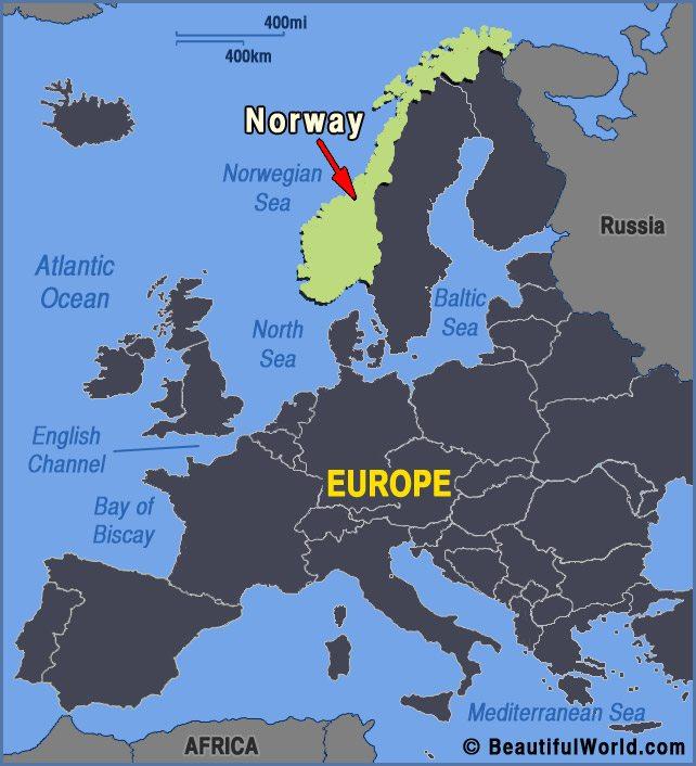 norway-europe-map