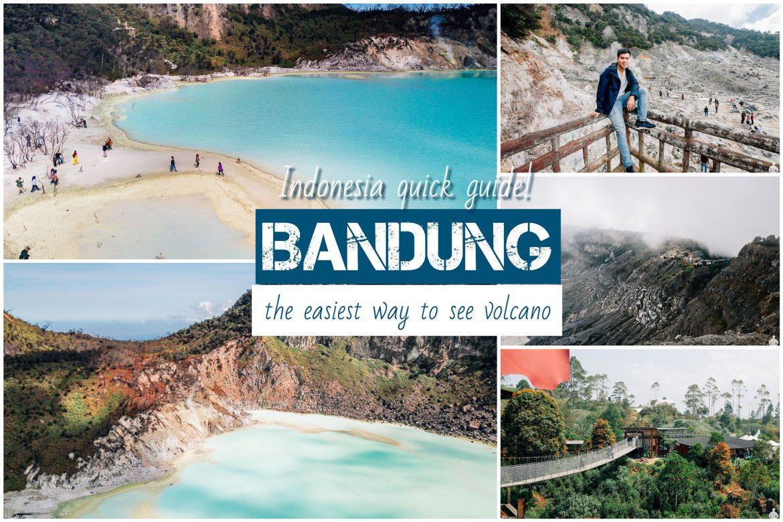 รีวิวอินโดนีเซีย ไปดูภูเขาไฟใกล้บ้านที่บันดุง แวะเที่ยวจาร์กาต้าก่อนกลับ | Bandung - Jakarta Trip