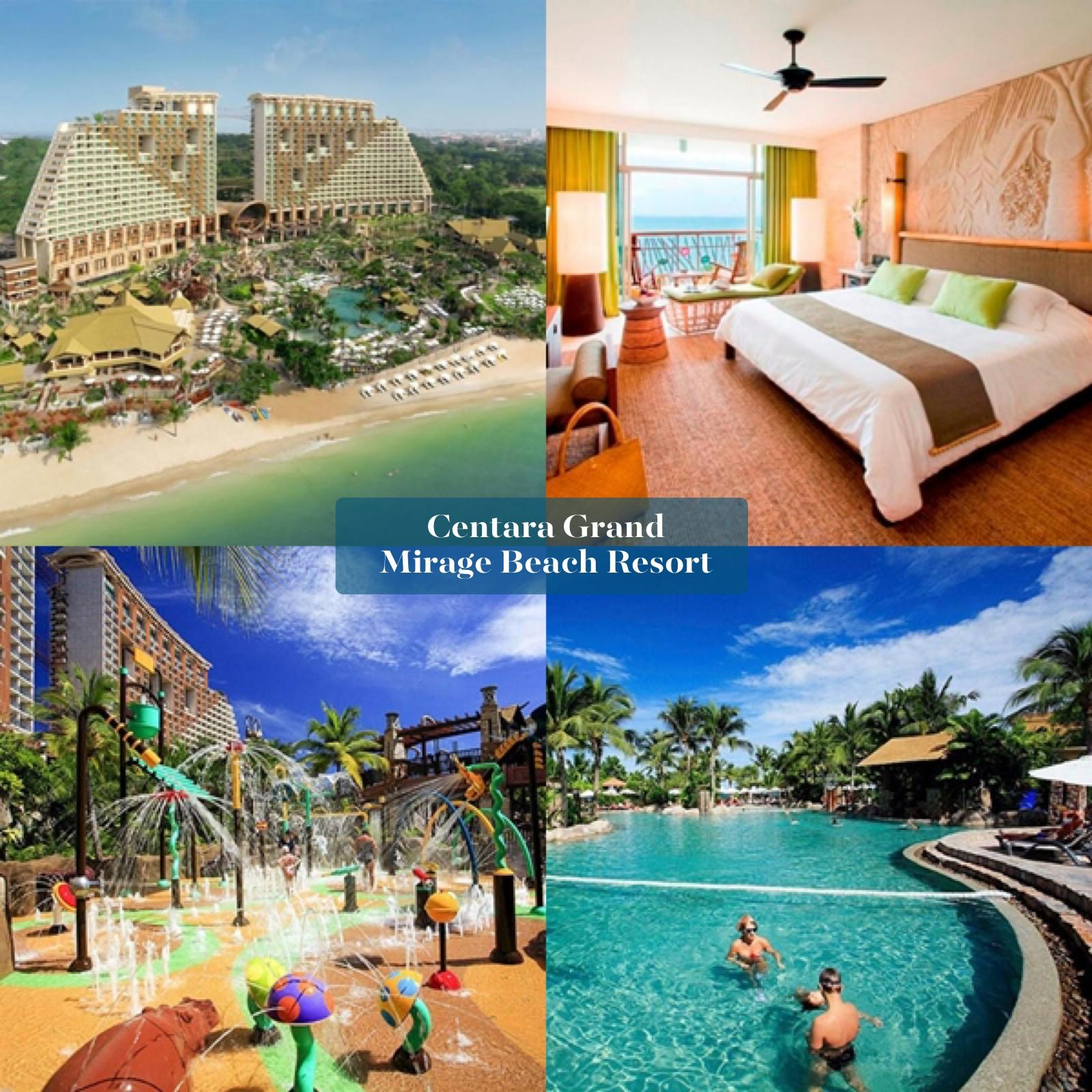 Centara Grand Mirage Beach Resort